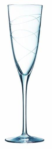 Cristal d'Arques 9204425 - Copa alargada de champán, color transparen