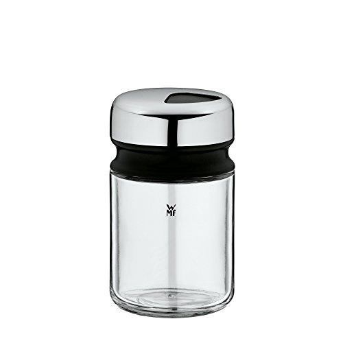 WMF Depot Universalstreuer 100ml, mit Aromadeckel, Gewürzglas grobes Streubild, Glas, Cromargan Edelstahl, spülmaschinengeeignet