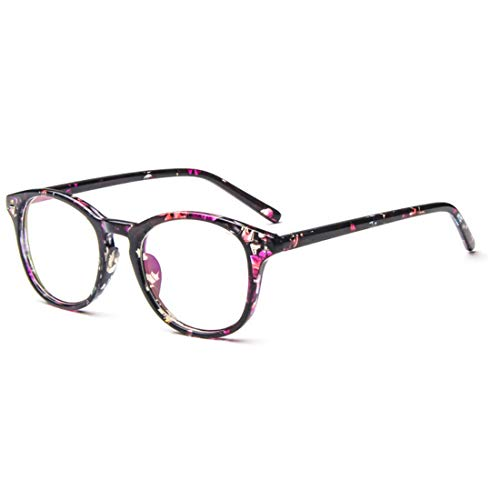 Huicai Fashion Unisex-Adult Vintage Voller PC-Rahmen Optische Gläser