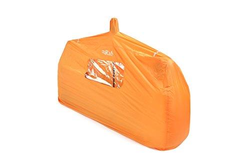 RAB Erwachsene Group Shelter 2 Biwakzelt, Orange, One Size