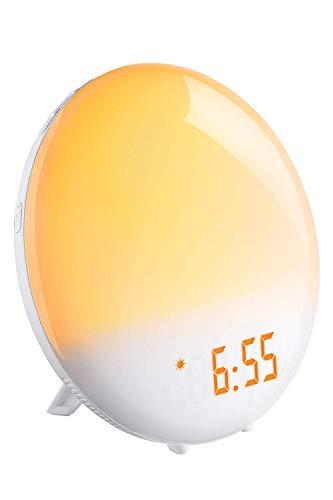Lampada da Comodino Luce Sveglia con Simulazione alba e tramonto