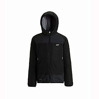 Regatta Children's Volcanics Ii Waterproof and Breathable Lightweight Insulated Reflective Hooded Jacket 3