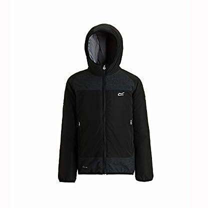 Regatta Children's Volcanics Ii Waterproof and Breathable Lightweight Insulated Reflective Hooded Jacket 1