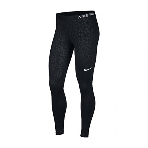 Nike Women's Damen Pro Tights Spotted Cat Trousers