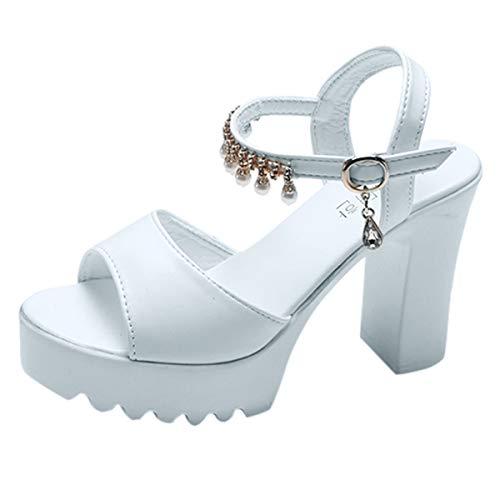 B-commerce Frauen Fisch Mund Strass Plattform Sandalen Schnalle Super Hoch Platz Ferse Peep Toe Schuhe Grundlegende Sommer Offene Sandale Damen Patent Dolly