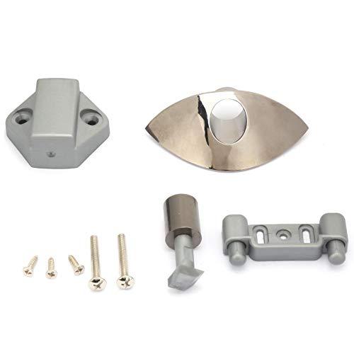 NITRIP 5pcs Auto Boot Half Moon Push Button Schlösser RV Cabinet Drawer Safety Latch Lock