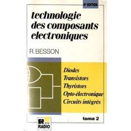 Technologie des composants électronique...