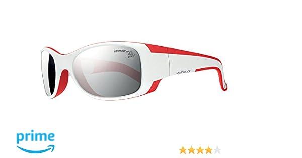 Julbo Booba Lunettes de soleil Garçon Blanc Rouge 4-6 ans  Amazon.fr   Sports et Loisirs 768a2be25079