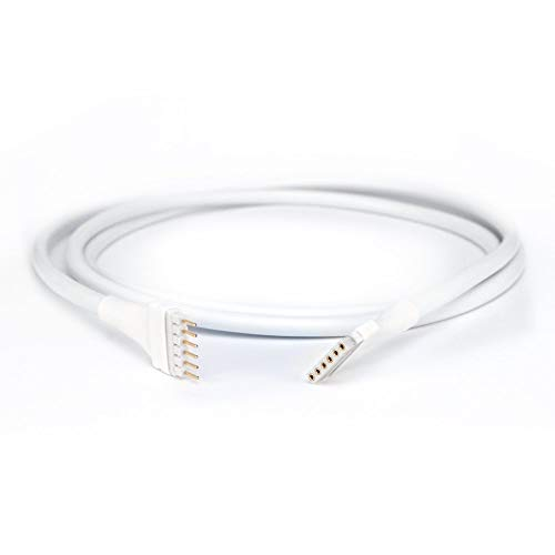 Spacer Extension Cable | for Philips Hue Lightstrip Plus | Upto 10m/30' (10cm, Round White)
