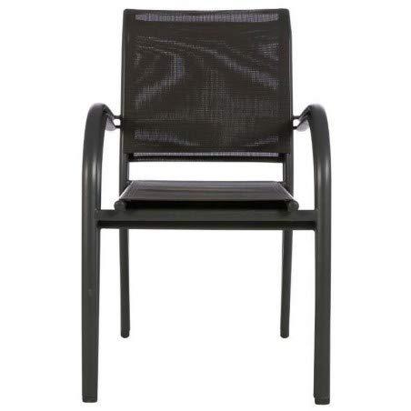 Zoom IMG-2 sedia impilabile piazza eminza antracite