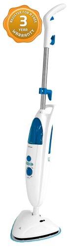 Abode ADSM4001 1500W Pro+ Detergent Steam Mop, White