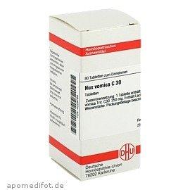 NUX VOMICA C30 80St Tabletten PZN:4229768 -