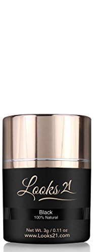 Looks21 Hair Loss Concealer - Black - 3gm/0.11 oz