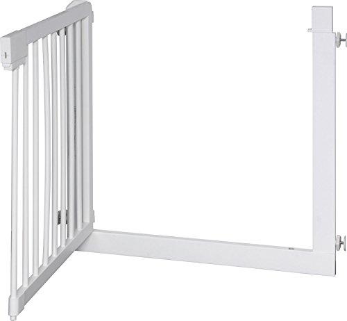 IB-Style – Treppengitter / Türgitter KOLBY M | 3 Größen |86 – 92 cm | aus massivem Holz – Weiß - 2