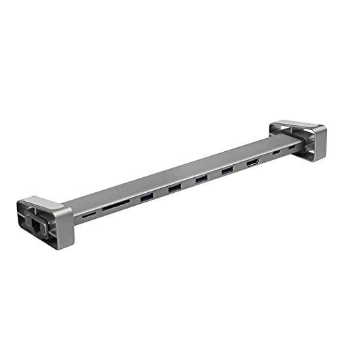 Navitech USB-C/Typ C-Dockingstationen mit Standfunktion Kompatibel mit Lenovo Yoga C630 C630 Usb