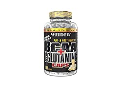Weider BCAA+Glutamin, 1er Pack (1x 180 Kapseln)