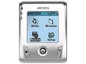 Archos Gmini XS 202 S Tragbarer MP3-Player 20 GB (Slim-Version) schwarz