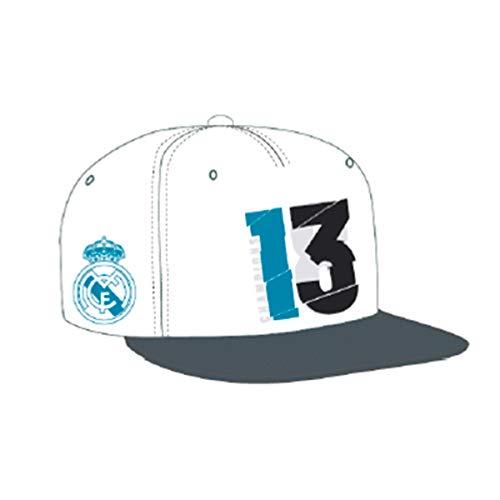 adidas Gorra Real Madrid 13 Campeón UCL 18 White Talla OSFM c8f4d9ceb80