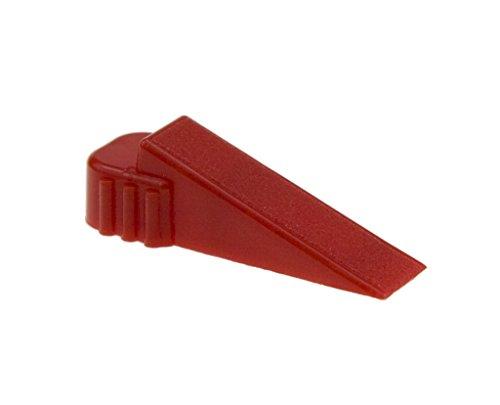 NIVIFIX Brunoplast Kunstoff Fliesenkeile 20° rot 250 Stück (Verlegehilfe, Verlegesystem, Fliesenverlegung, Fliesenverlegehilfe, Fliesenverlegesystem)