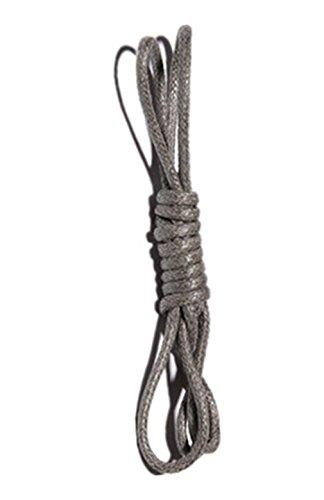 Boowhol Rundsenkel Schnürsenkel reißfest gewachst Wasserdichte Shoelace für Kinder Erwachsene,Länge: 60-180 CM