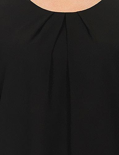 ICHI Damen Bluse Arabi To Schwarz (Black 10001)