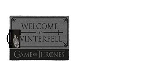 Pyramid International Felpudo Juego de Tronos Welcome to Winterfell, 40 x 60 cm