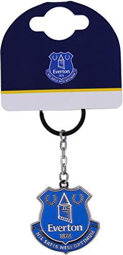 Everton F.C. Crest Keyring NC (Nc-schlüsselanhänger)
