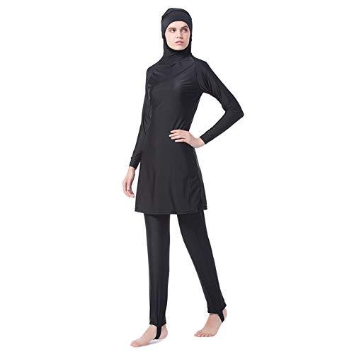 Xiedeai Mujer Traje de Baño - Tankinis Musulmana Conservadora Traje de Baño Playa Islam Traje de baño...