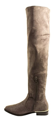 Elara, Stivali donna cachi