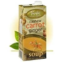Pacific Natural Foods Organic Cashew Carrot & Ginger Bisque 17.6 oz. (Pack of 12) by Pacific Natural Foods preisvergleich bei billige-tabletten.eu
