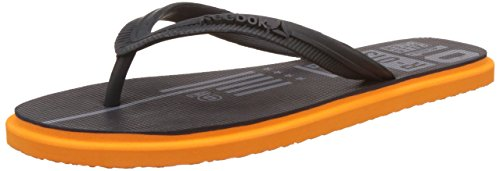 Reebok Men's Chrome Flip Gravel, Flat Grey and Nacho Flip-Flops and House Slippers - 6 UK/India (39 EU) (7 US)  available at amazon for Rs.549