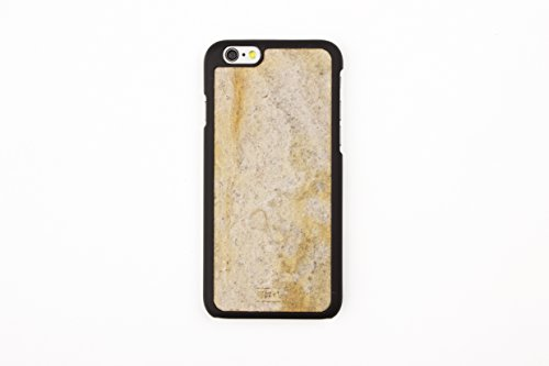 WoodWe Natural Stone Protective Handmade Case / Cover | For Iphone 6 / 6s | Authentic & Stylish | Ethically Sourced | ARKOBALENTO CALORE Falling Leaves