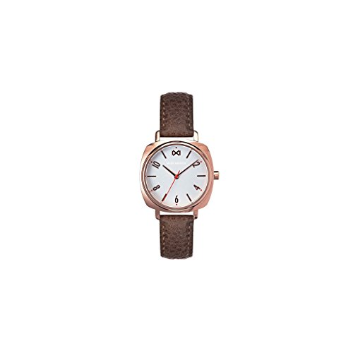 Mark Maddox Women's Analogue Quartz Watch with Leather Strap MC0100-15