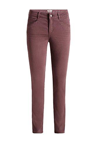 ESPRIT 116ee1b001, Pantaloni Donna Rosso (Garnet Red)