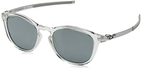 Ray-Ban Herren 0OO9439 Sonnenbrille, Mehrfarbig (Polished Clear), 50