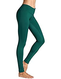 07f8f9a277a1 CRZ YOGA Damen Sport Yoga Leggings - Länge Capri Tights Sportshose  Jogginghose