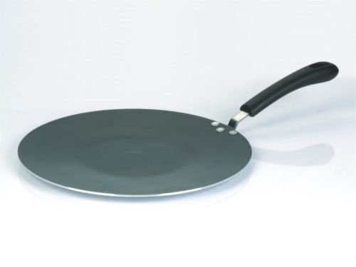 Non-Stick TAWA/TAVA 28cm/30cm Indian Roti Flat Cooking Plate Chapati Pan High Quality Aluminium Base (Non Stick 30cm)