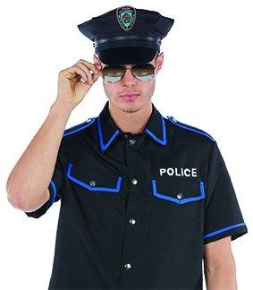 oires Hut Karneval Halloween Cop Gesetzeshütter ()