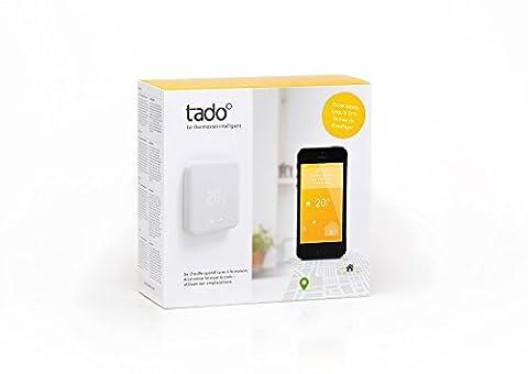 tado° Thermostat Intelligent - Kit de démarrage (v2) - contrôle de chauffage intelligent par géolocalisation via