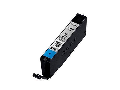 Original cartouche d'encre canon pGI 570 pGI570 pGI - 550 pour imprimantes canon pixma mG 7751–noir-capacité : 15 ml : (12) 1x XL Tintenpatrone - Cyan