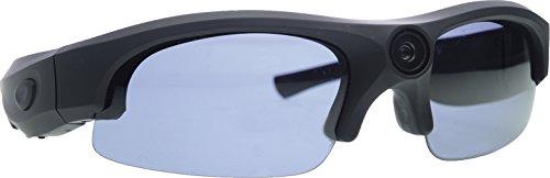 Rollei Sunglasses Cam 200 Actioncam Brille mit 5 Megapixel und Full HD – Schwarz - 4