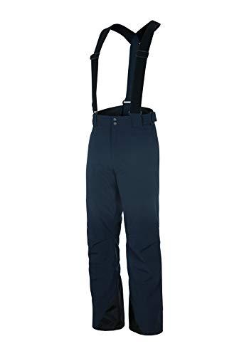 Ziener telmo man (pant pantaloni da sci), uomo, 184206, blu navy, 46