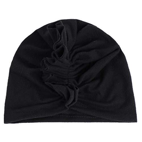 im Islamic Arab Abaya Jilbab Middle Eastern Ramadan,Baby Muslim Turban Hut elastisches Stirnband niedliche Knoten Mütze Hijab Cap ()