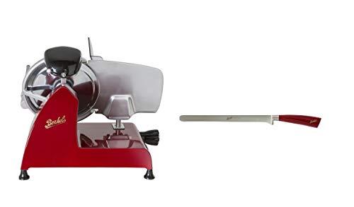 Berkel Schneidemaschine Red Line 250 rot + Schinkenmesser Berkel