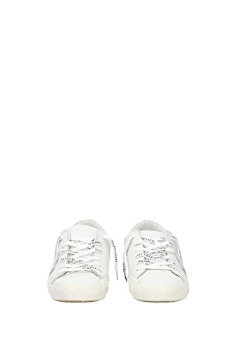 CLLUVE51 Philippe Model Sneakers Uomo Pelle Bianco Bianco