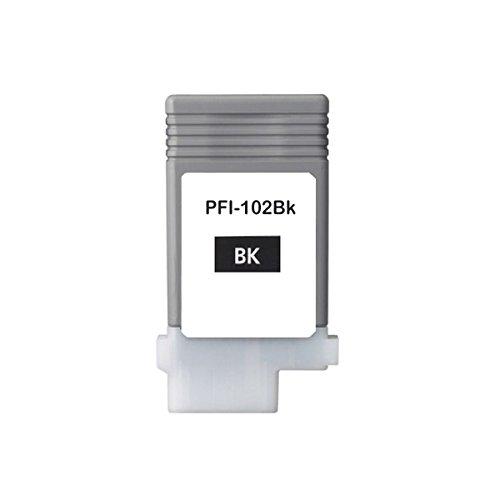Galleria fotografica Inchiostro cartuccia alternativa a Canon PFI-106102BK (Black, 130ML, CON I più recenti Chip)