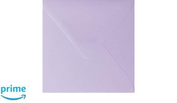 colore: Rosa 120 g//mq quadrate 15 x 15 cm Paper24-25 buste per lettere con linguetta triangolare