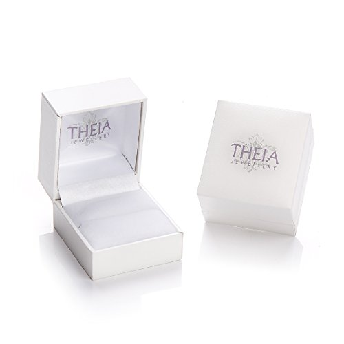 Theia Bague Or - 375/1000 Or jaune Unisexe Or Blanc