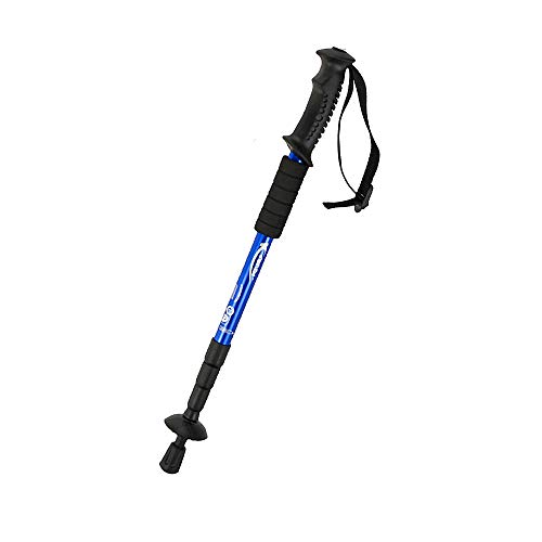Huicing - Bastones plegables para senderismo, senderismo, senderismo, montañismo, montañismo, montañismo, azul