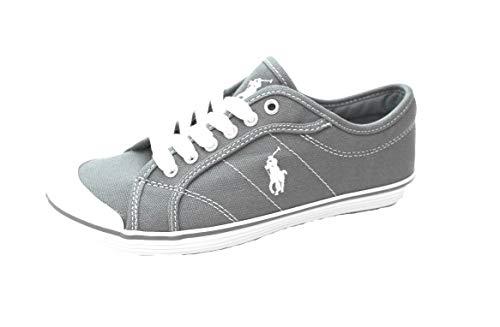 Ralph Lauren Polo Marin Damen Canvas Sneaker Chambray Blu (38.5 EU)